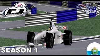 F1 Manager - Stewart GP - Season 1 - San Marino GP