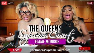 "Ts Madison ""The Queens Supreme Court"" w/ Flame Monroe @monroeflame"