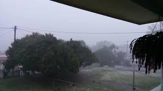 Gympie super storm hail