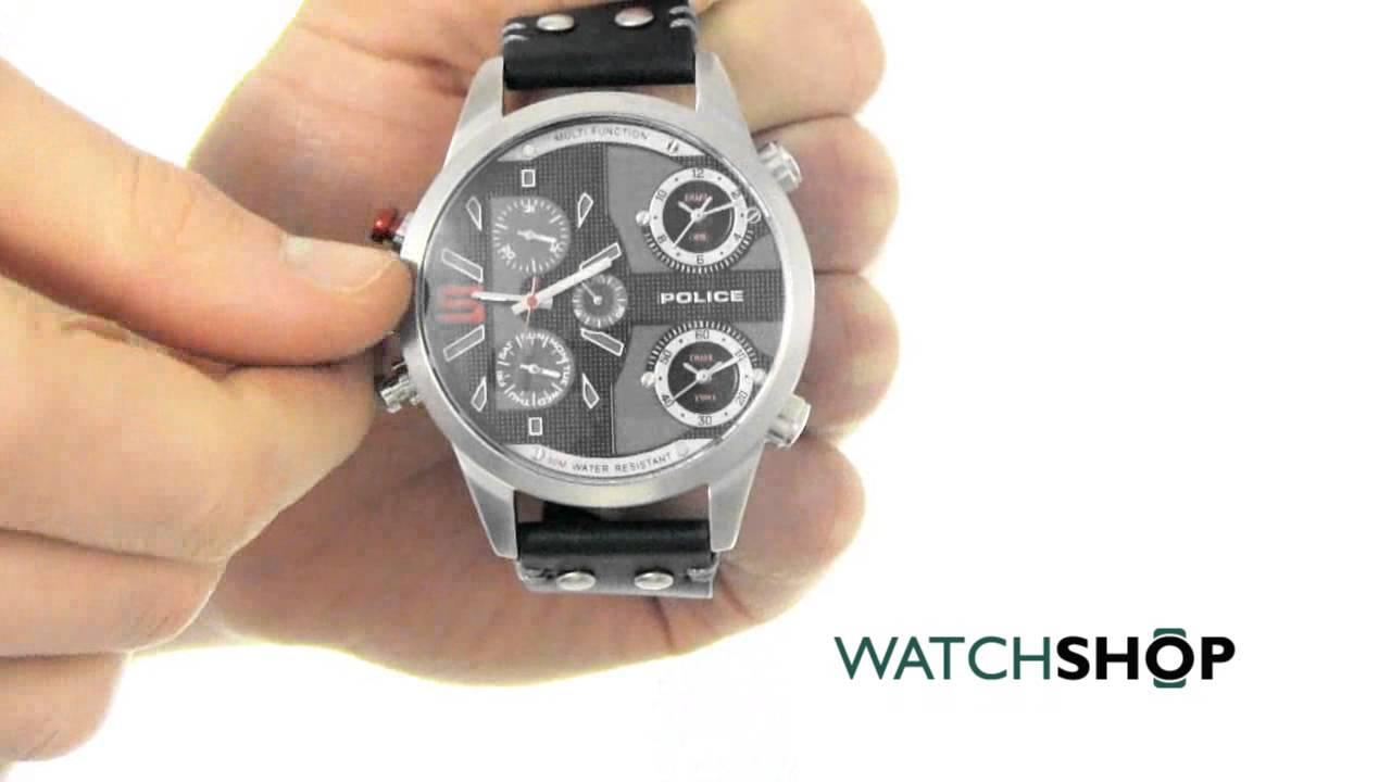 85a93134dbe Police Men s Copperhead Watch (14374JS 02) - YouTube