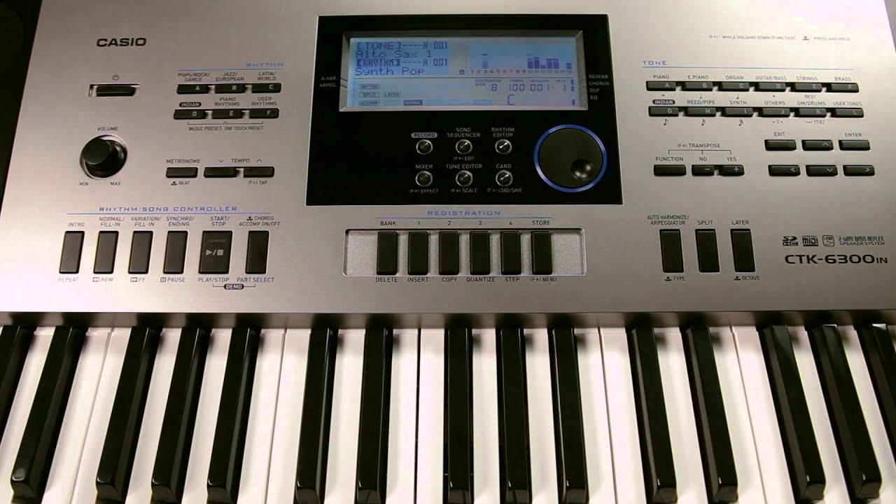 casio ctk 6300in how to use rhythm editor feature on casio 6300in