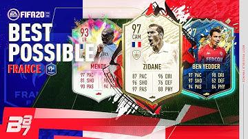 BEST POSSIBLE FRANCE TEAM w/ 98 TOTY MBAPPE & 97 TOTS BEN YEDDER!  | FIFA 20 ULTIMATE TEAM