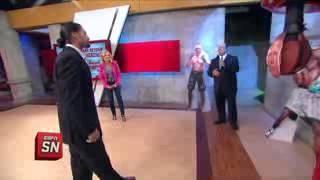 Paul Heyman interrupts Roman Reigns on national television