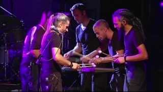 LAZULI - 9 HANDS AROUND THE MARIMBA - Live - Veruno Italy - 2 days prog Festival - 2012