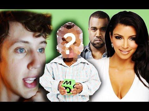 LEAKED KIM KARDASHIAN & KANYE WEST NEW BABY PHOTOS?