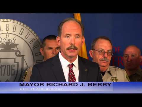 Mayor Richard J. Berry, City of Albuquerque    News Conference 11-5-15