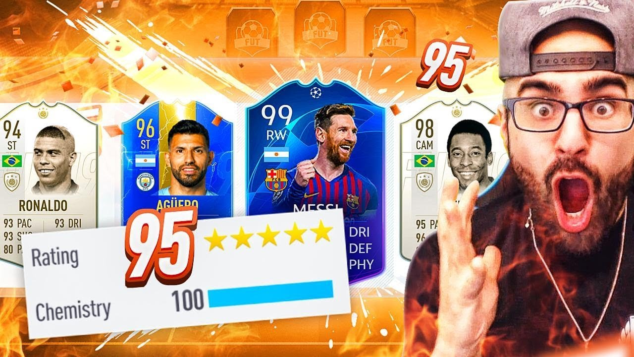 OMG 195 RATED! HIGHEST RATED DRAFT CHALLENGE! FIFA 19 Ultimate Team thumbnail