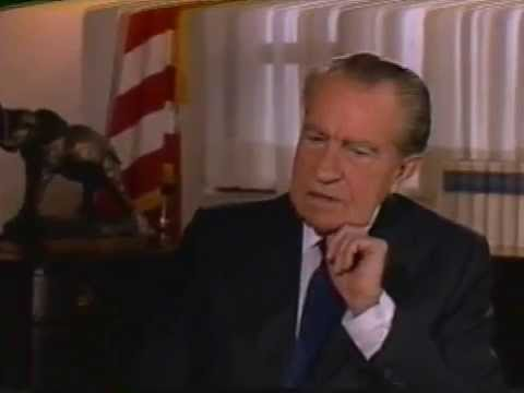 President Richard M. Nixon is Interviewed on the U.S. Constitution