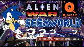 Segaworld, Quasar + Alien War (Food For Thought ep. 2)