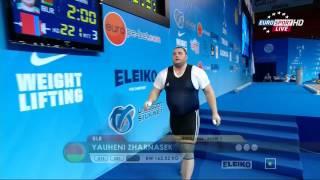 Тяжелая атлетика. Чемпионат Европы 2015 г. Мужчины свыше 105 кг. Супертяжи