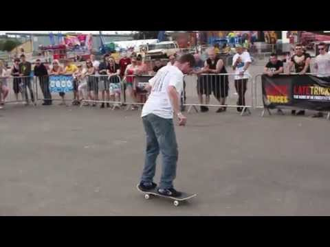 Freestyle Skateboard Demo NASS Festival 2014 - Saturday