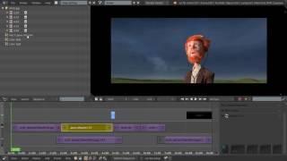Видео-редактор Blender 29 - Outliner
