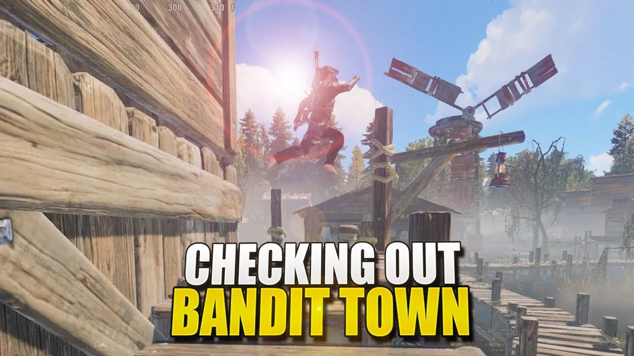 FINALLY! Checking Out The NEW BANDIT CAMP (Rust)
