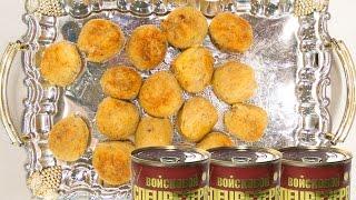 Вкусные рецепты с тушенкой - крокеты из картофеля и говядины Войсковой Спецрезерв