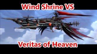 Final Fantasy Brave Exvius - Wind Shrine vs Veritas of Heavens (Dirnado Ending) Part 65 - FFBE