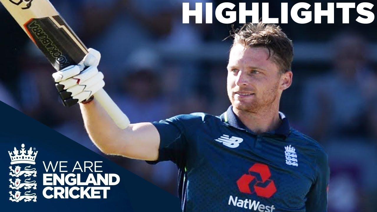 Great Drama As Buttler Ton Seals Historic Whitewash | England v Australia 5th ODI 2018 - Highlights