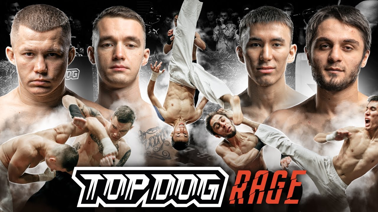 Top Dog Rage: Олигов - Профессор, Кярнянен - ПакМэн | TDFC X | Бои на голых кулаках