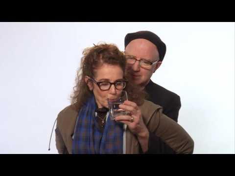Debra Winger & Arliss Howard enjoy a drink