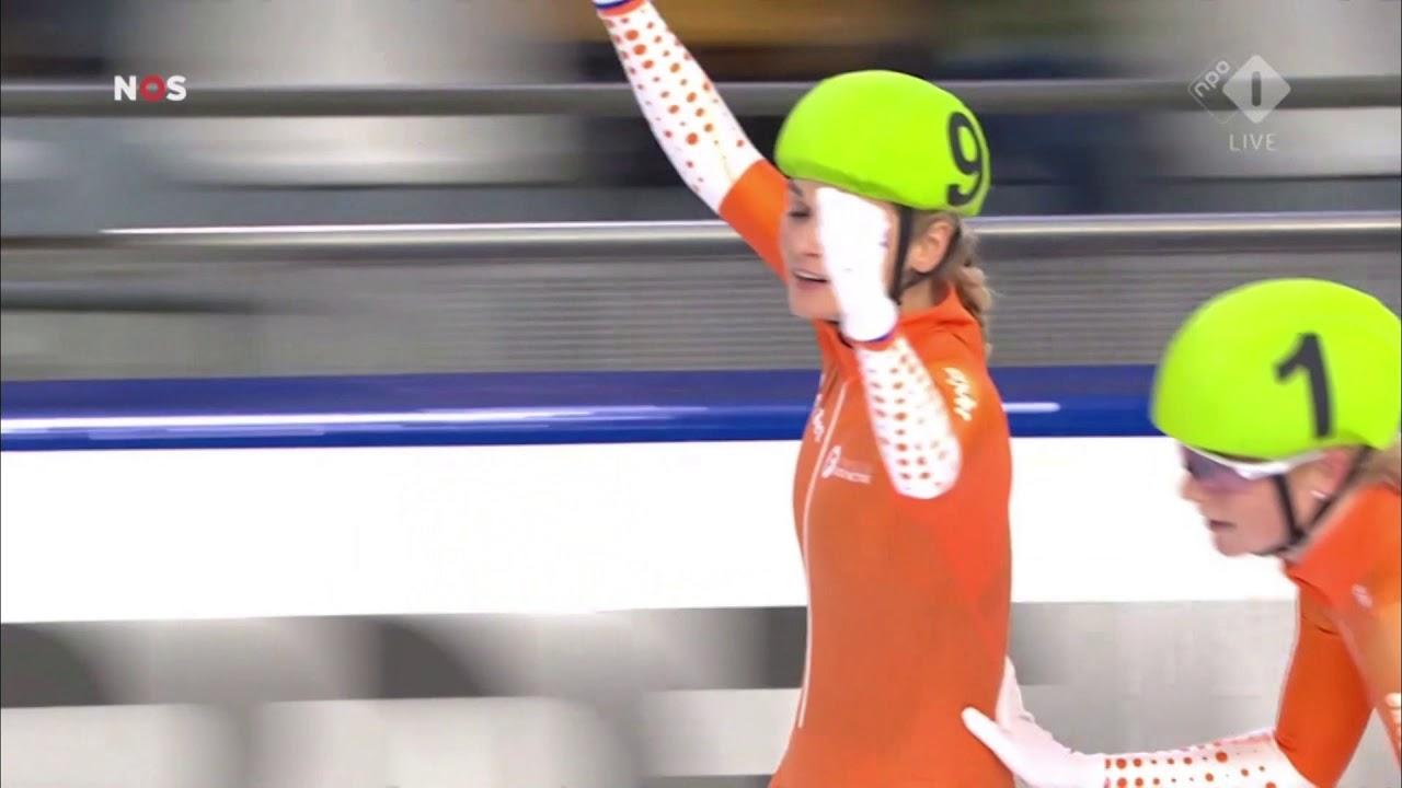 Download En dat is nr  7 voor Irene Schouten, Nederlands kampioen op de mass start