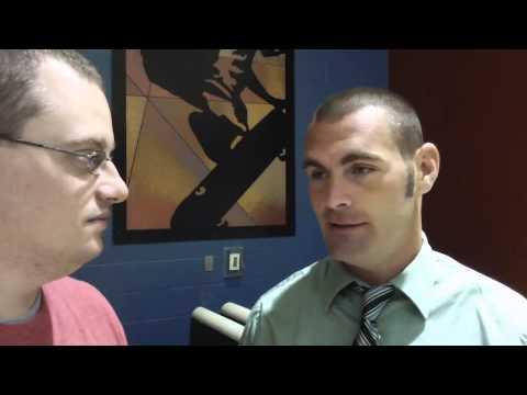 South Side High School football coach Eddie Fields