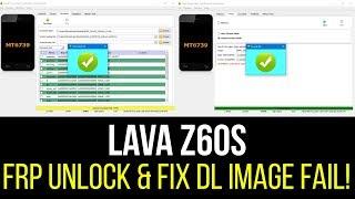 Lava Z60 Tool Dl Image Fail Solution
