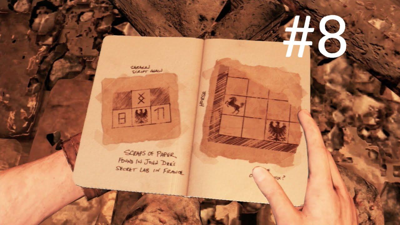 Uncharted 3 Drakes Deception Gameplay Walkthrough Part 8
