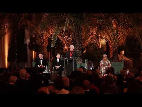 Arata Isozaki Accepts the 2019 Pritzker Prize