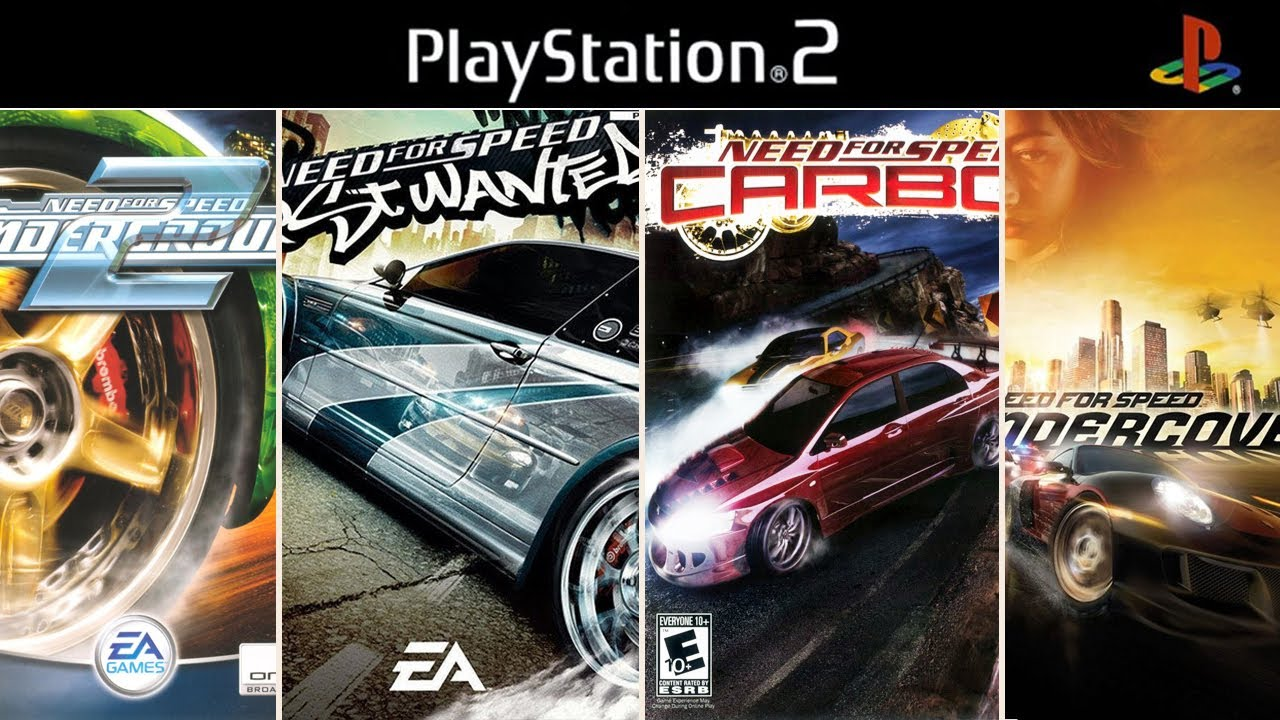 All Need For Speed Games On Ps2 Youtube