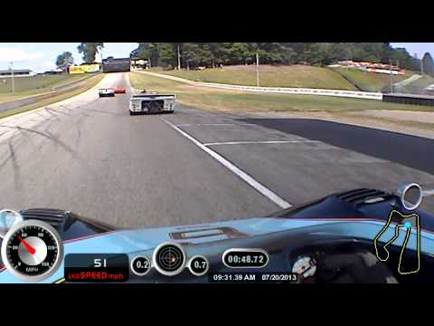 Ron Pace's 2nd Qualifying Session at the 2013 Hawk with Brian Redman