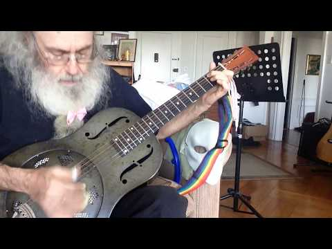 Guitar Lesson In Open D Tuning. Messiahsez Shows How To Use Finger Picks To Get Rhythm To Flow Yo!!