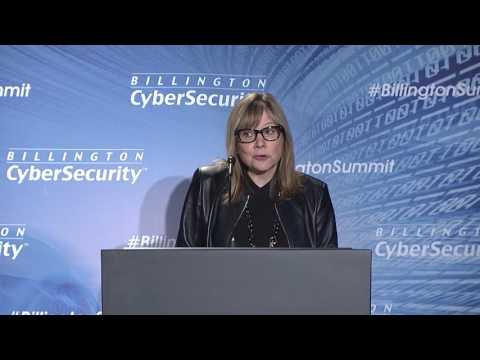 Keynote by Mary Barra, Chairman & Ceo, GM at Billington CyberSecurity Summit 7 22 16