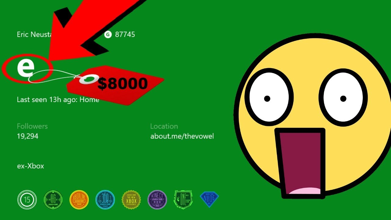 $8000 GAMERTAG! WORLDS MOST EXPENSIVE