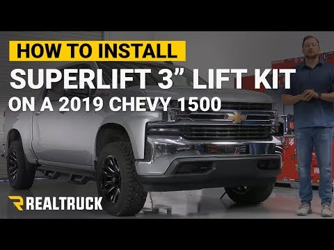 """How to Install Superlift 3"""" Lift Kits on a 2019 Chevy Silverado 1500"""