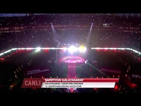 Ali Sami Yen'de Şampiyonluk Kutlaması