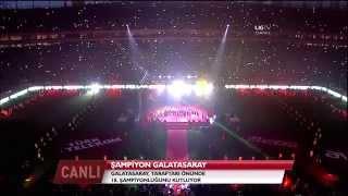 Ali Sami Yen'de Şampiyonluk Kutlaması Video