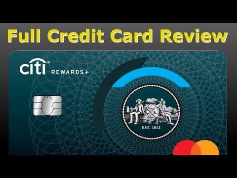 Credit Card Review: Citi Rewards Plus Credit Card