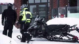 Snowmobiling In Timmins Ontario