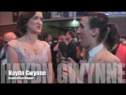 Haydn Gwynne at 2009 Drama Desk Awards