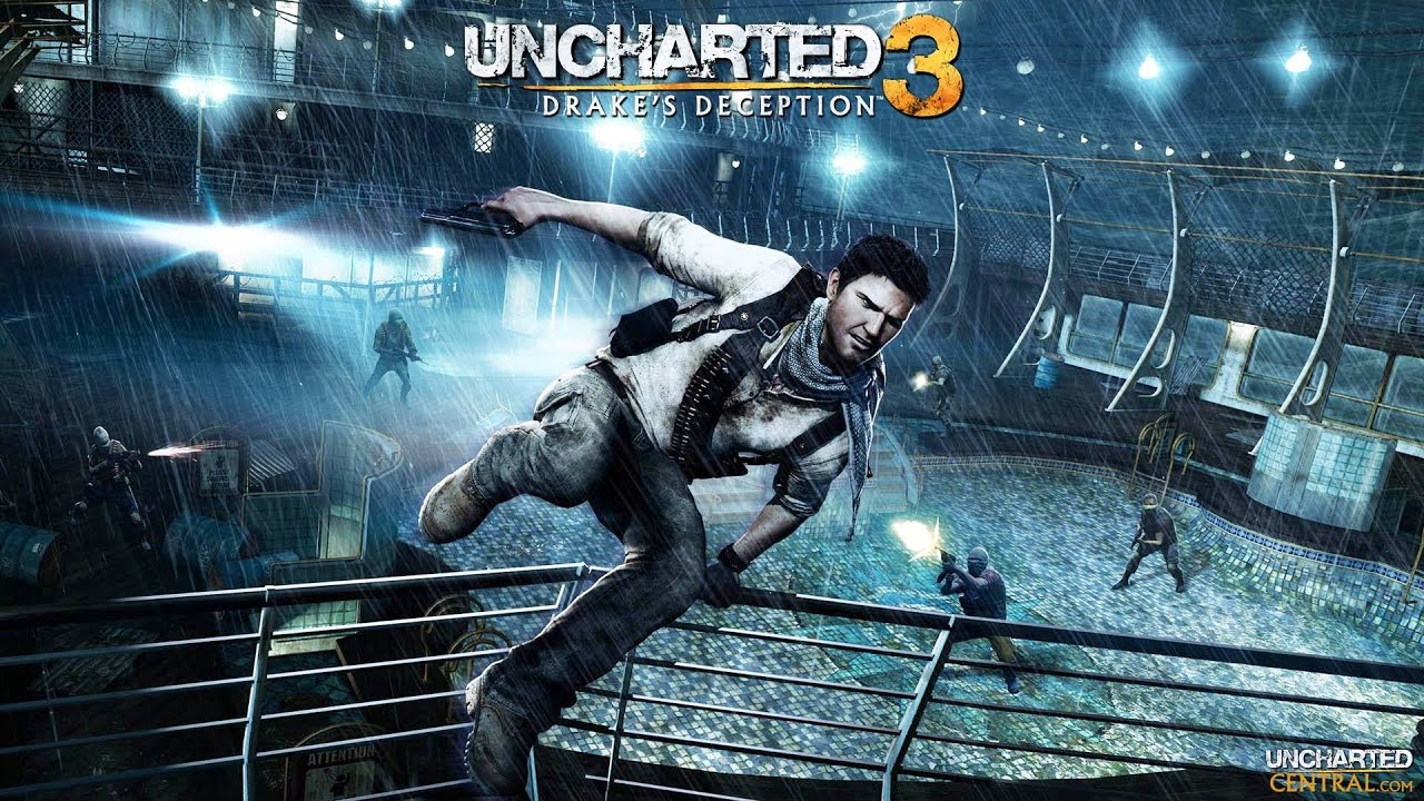 Uncharted 3 Tnd Collection Ps4 Supernatural Born Killers