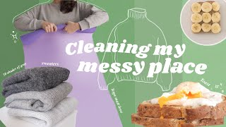 Living Alone Diaries Cleaning Routine Apartment Organization with minimalism