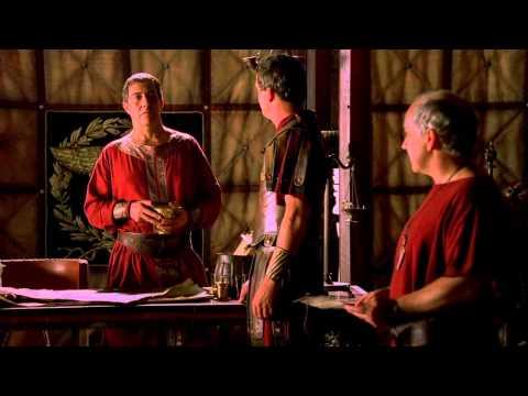 Rome Pompey refuses to meet Caesar HD