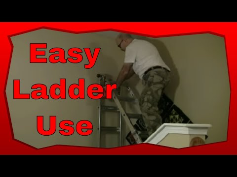 How To Use A Collapsible Ladder Or Extension On Stairs