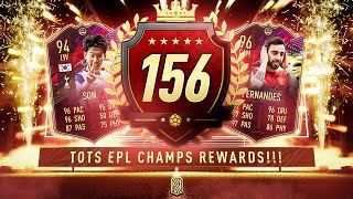 TOP 200 REWARDS!!! INSANE PL TOTS FUT CHAMPS REWARDS!! FIFA 21