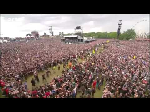 Wall of death Mass Hysteria Hellfest 2016
