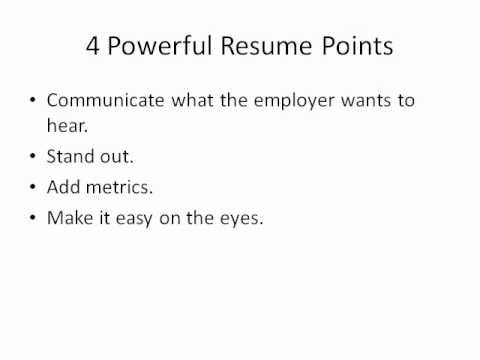 FREE Resume Example and Resume Tips- Download Your Example Resume