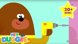 Building with Duggee! - 20 Minutes - Duggee's Best Bits - Hey Duggee