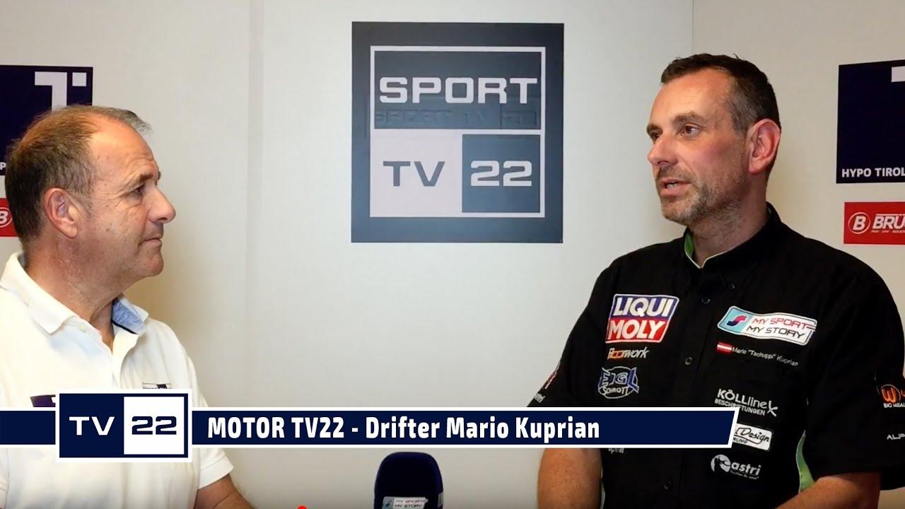 MOTOR TV22: Drifter Mario Kuprian im exklusiven Interview