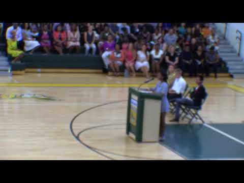 Ted Benjamin - Trinity Benjamin MIddle School Graduation Speach