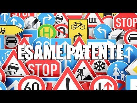 Quiz Patente: Esame Patente (Teoria) #4