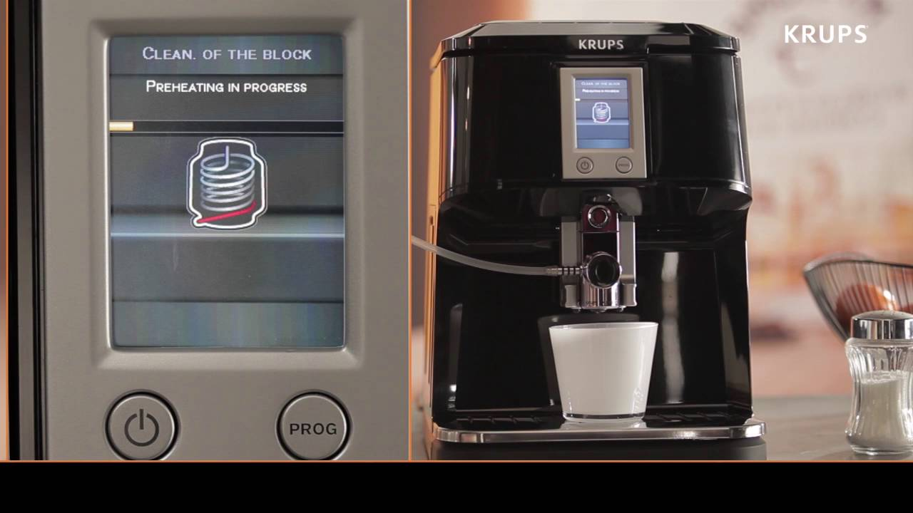 Krups Ea850b Limpieza De La Cafetera Superautomatica One Touch